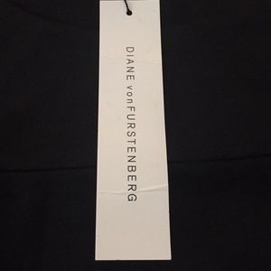 Diane Von Furstenberg Dresses - New Diane Von Furstenberg Black Dress Size 2 #A